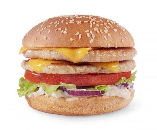Double Cheeseburger куриный